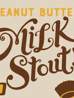 Left Hand Peanut Butter Milk Stout - 6x12oz Cans
