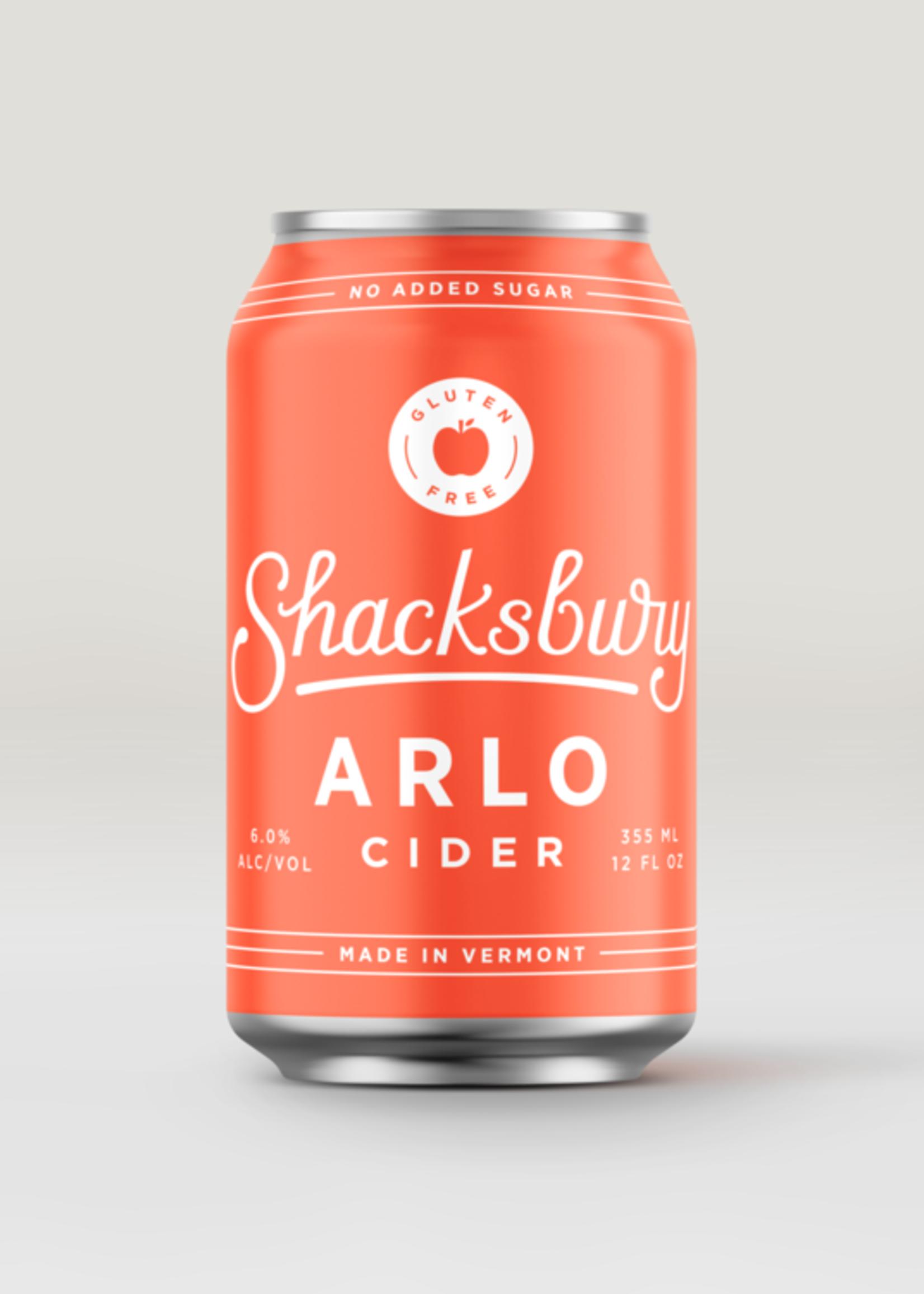 Shacksbury Arlo Cider - 4x12oz Cans