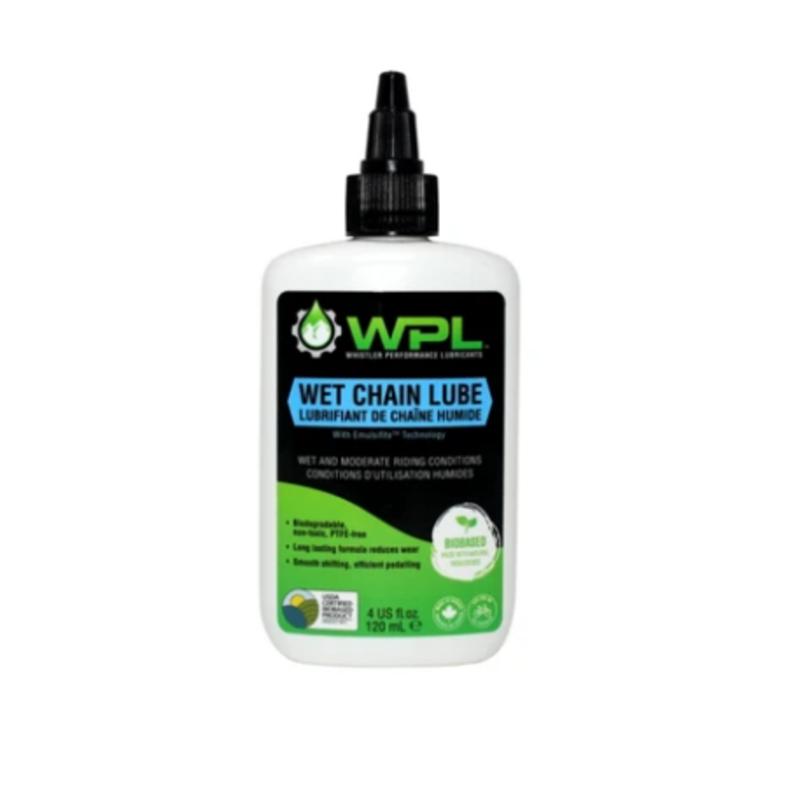 Whistler Performance (WPL) ChainBoost Wet Chain Lubricant 4oz (120ml) Drip