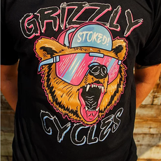 Grizzly Cycles Party Bear Shirt
