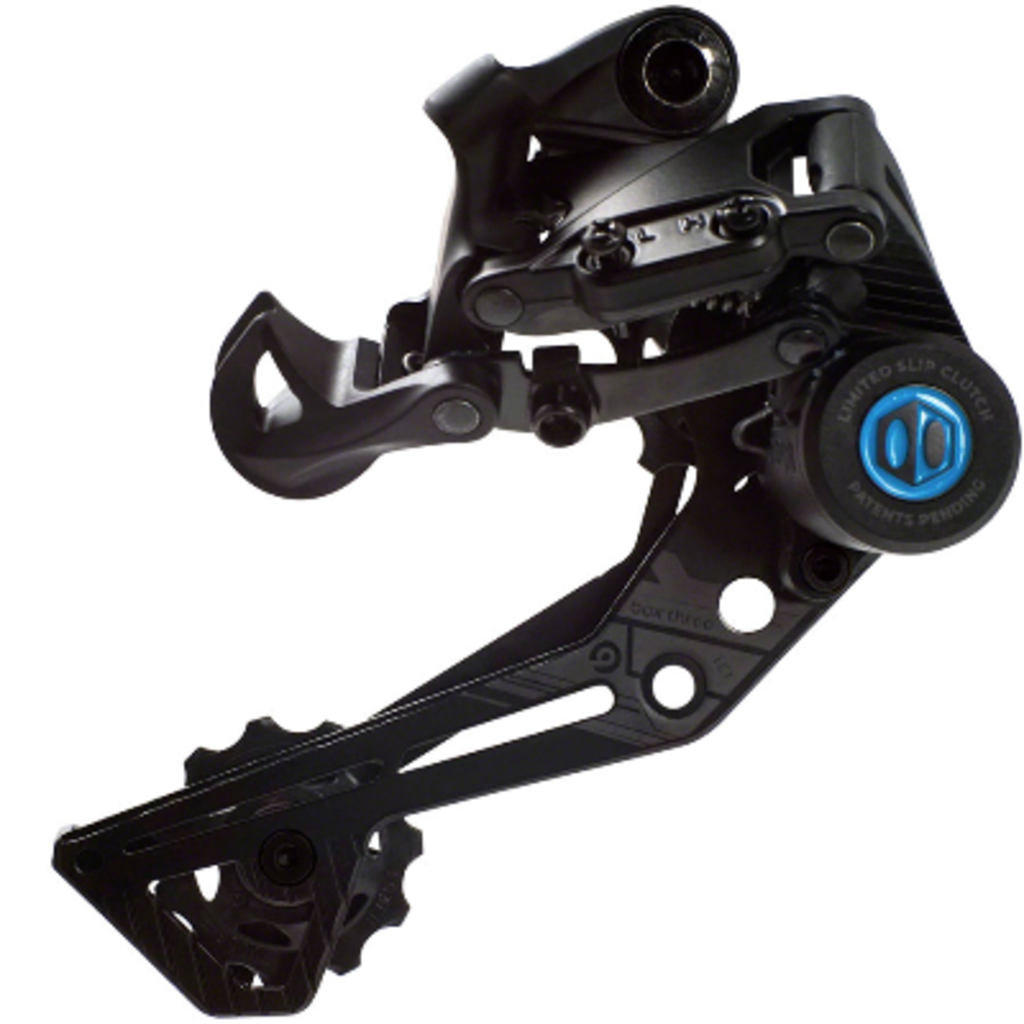 BOX Three Prime 9 X-Wide Rear Derailleur - 9-Speed, Long Cage, Matte Black