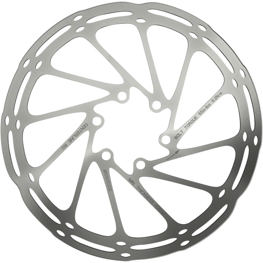 SRAM CenterLine 6-Bolt Disc Rotor