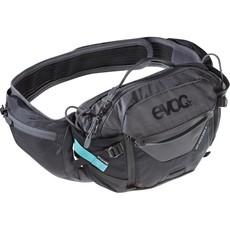EVOC Hip Pack Pro, Hydration Bag, Volume: 3L, Bladder: Included (1.5L), Black/Carbon Grey