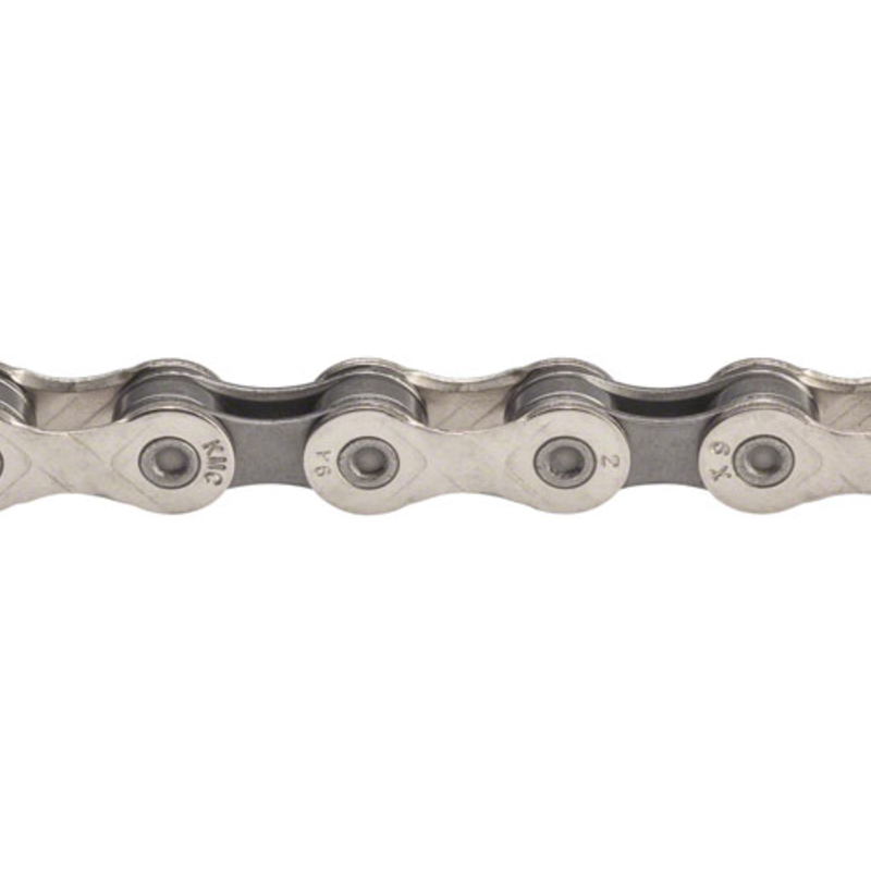 KMC X9 Chain - 9-Speed, 116 Links, Silver/Gray