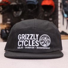Grizzly Cycles 5 Panel Hat *PRE-ORDER*