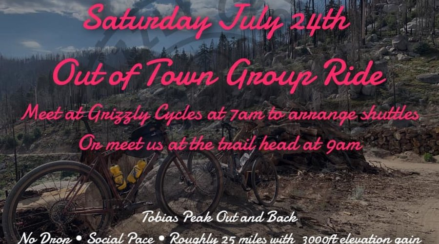 Out Of Town Group Ride!