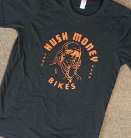 Hush Money Bikes Hush Money Ben Cranklin T-Shirt Flyerdelphia Unisex S