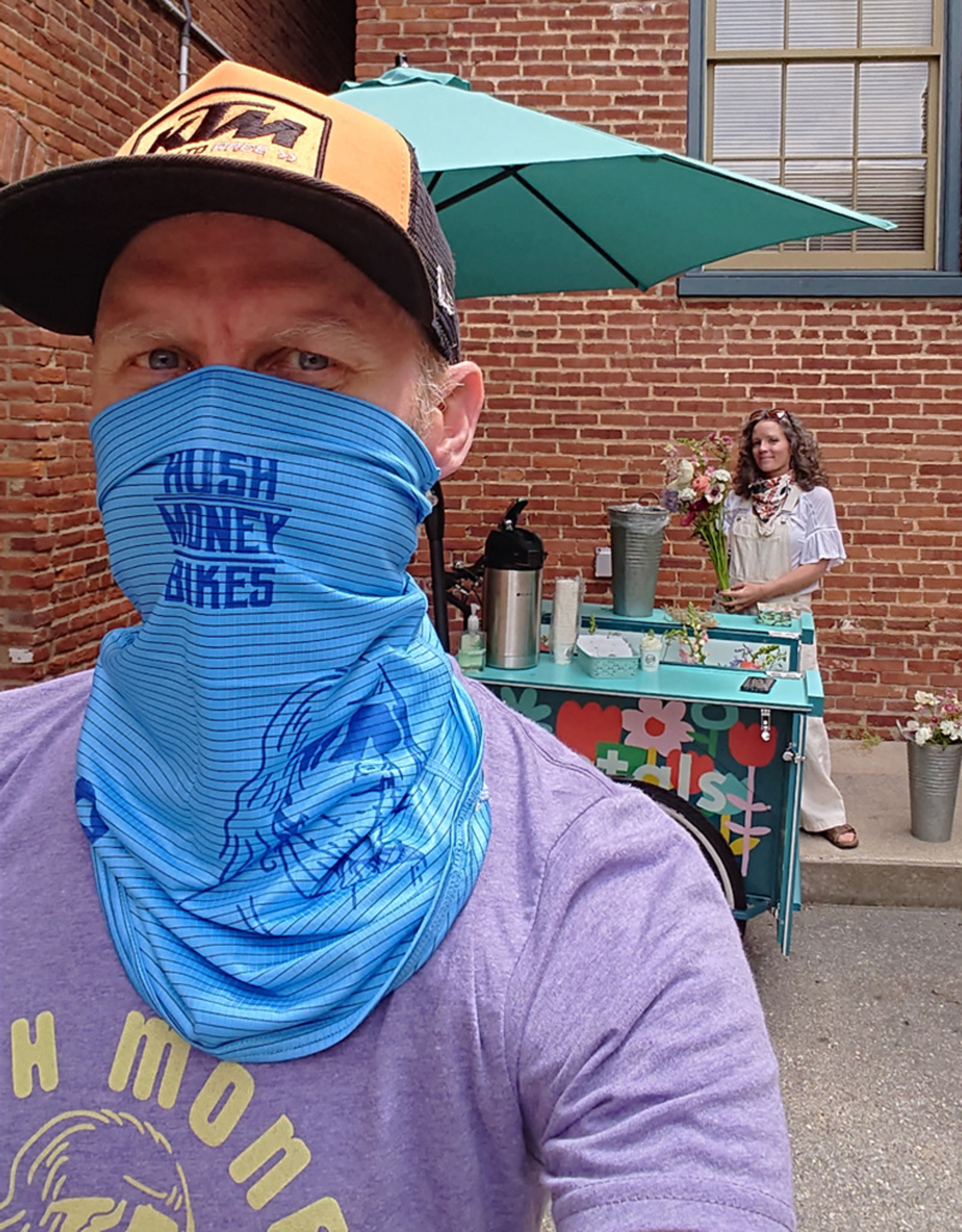 Hush Money Ben Cranklin Neck Gaiter