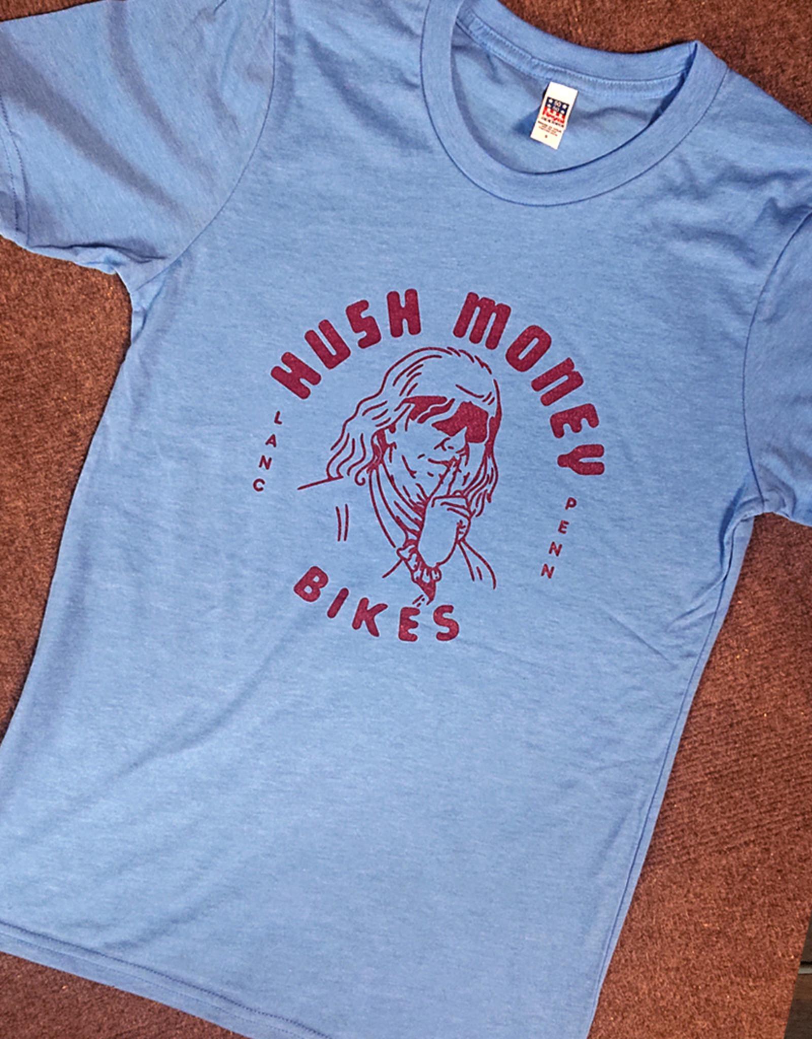 Hush Money Bikes Hush Money Ben Cranklin T-Shirt Philliedelphia Unisex