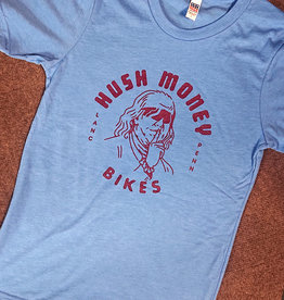 Hush Money Bikes Hush Money Ben Cranklin T-Shirt Philliedelphia Unisex S