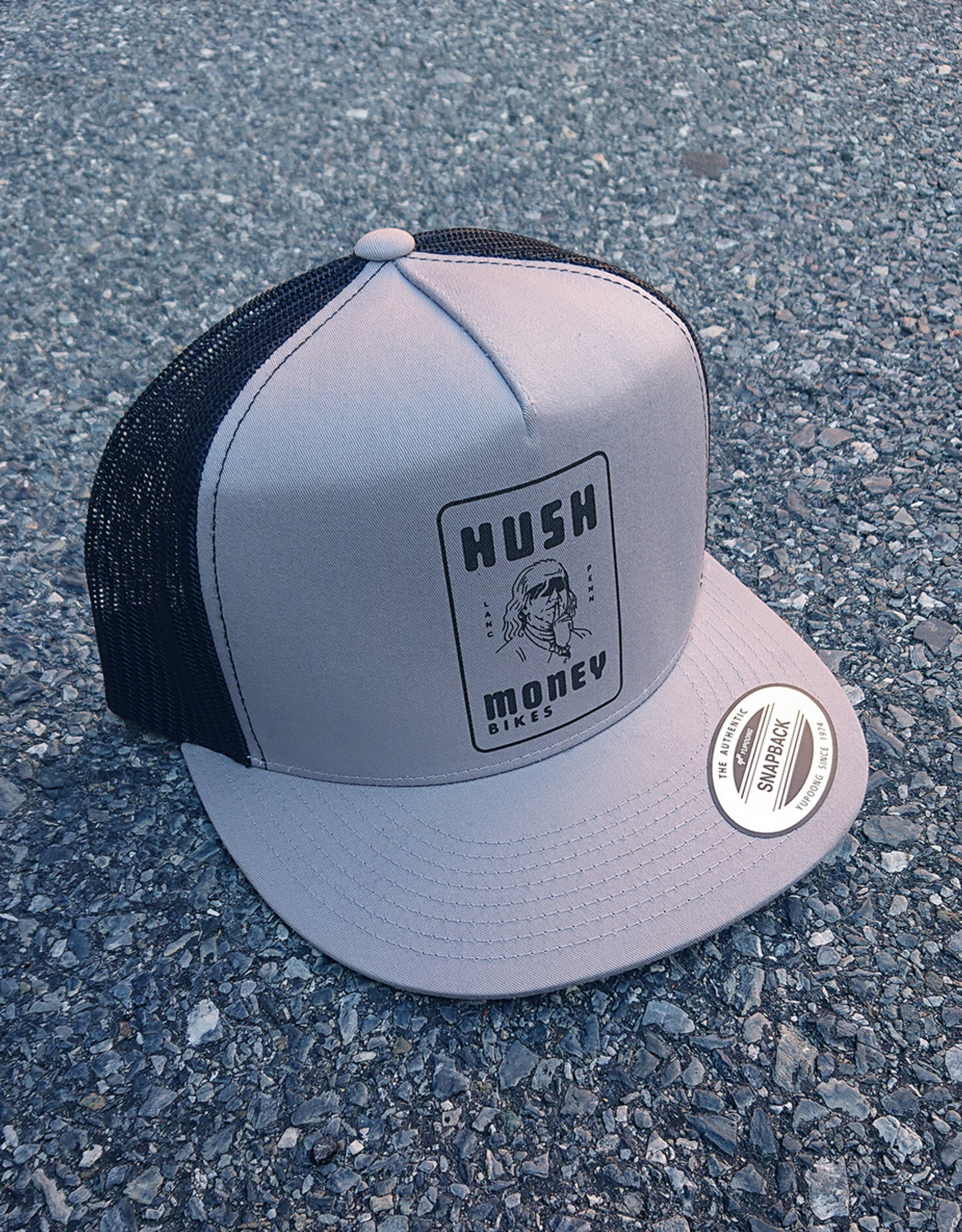 Hush Money Flat Brim Trucker Hat