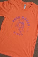Hush Money Bikes Ben Cranklin T-Shirt Orange You Glad