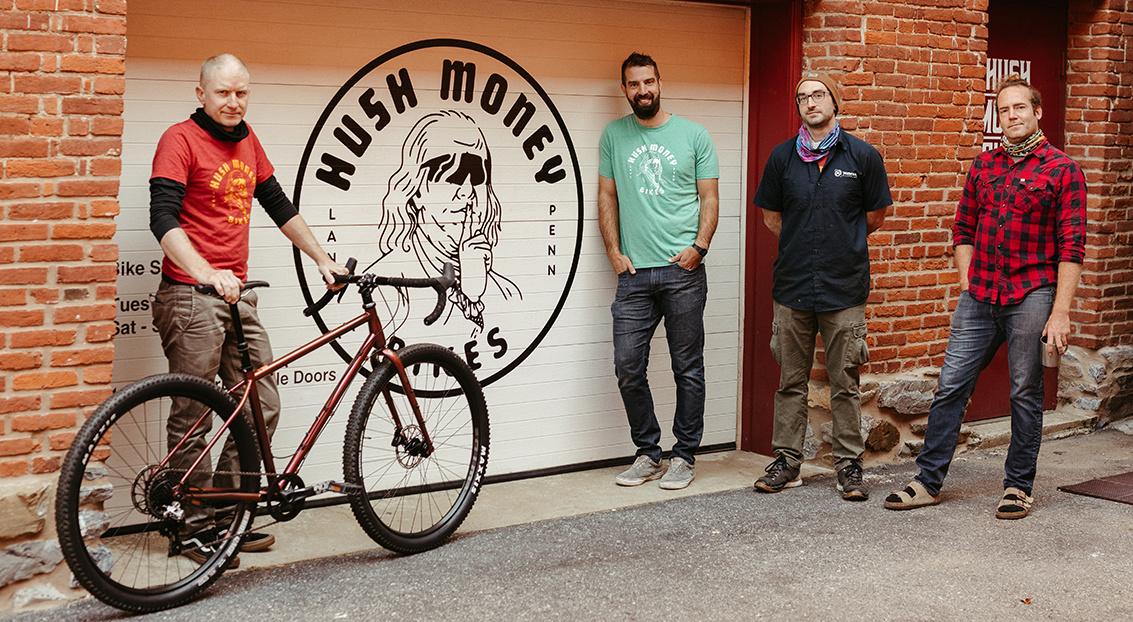 Hush Money Bikes Staff