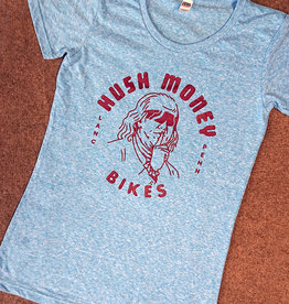 Hush Money Bikes Ben Cranklin T-Shirt Philliedelphia Femme