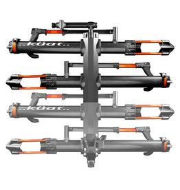 Kuat NV 2.0 +2 Bike Add-On, Metallic Gray/Orange