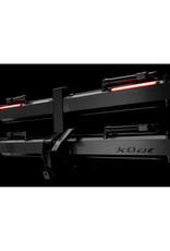 Kuat Piston Pro X 2-Bike Add On LED Dual Ratchet Platform Rack, Galaxy Grey