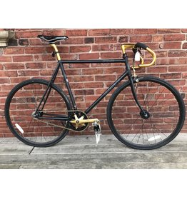 fuji NOS Bike #9599 Fuji Obey Black Track Bike 58cm