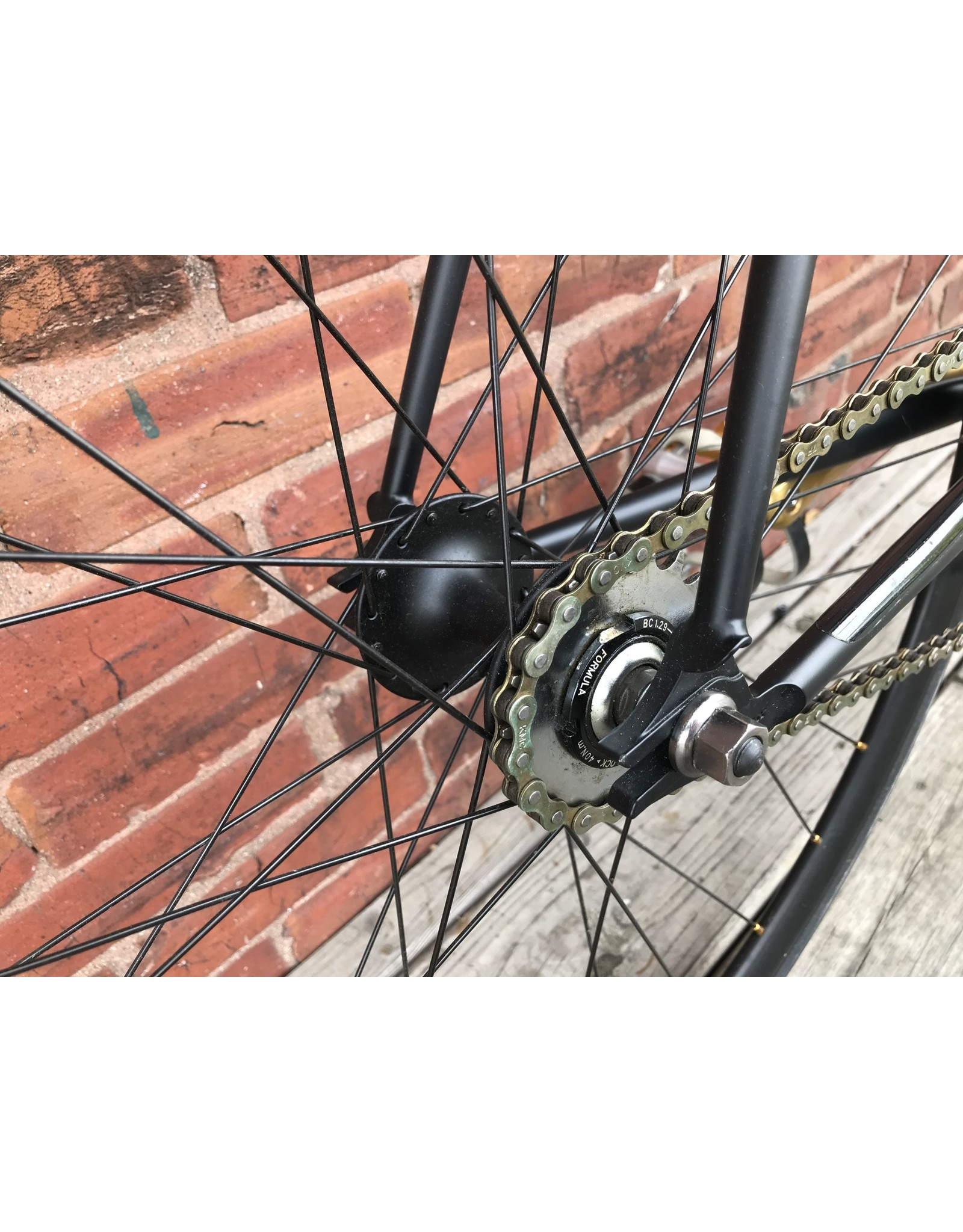 fuji NOS Bike #9599 Fuji Obey Black Track Bike 58cm