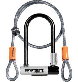 kryptonite Krytonite New-U Mini-7 U-lock w/ Flex Cable