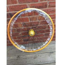 SE BIKES WHEEL REAR 26x1.75 559x24 SE BIKES GOLD 36 SE BIKES 1s FW SEAL 3/8 GD 110mm DTI2.0BK
