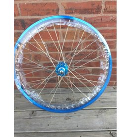 SE BIKES WHEEL REAR 26x1.75 559x24 SE BIKES BLUE 36 SE BIKES 1s FW SEAL 3/8 BU 110mm DTI2.0SL