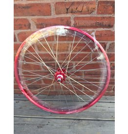 SE BIKES WHEEL REAR 26x1.75 559x24 SE BIKES RED 36 SE BIKES 1s FW SEAL 3/8 RD 110mm DTI2.0SL