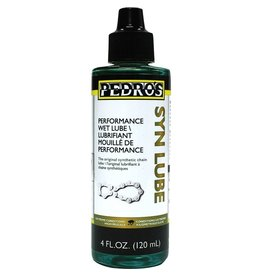 Pedro's Pedro's Syn Lube: Wet Chain Synthetic Oil, 4oz/120ml