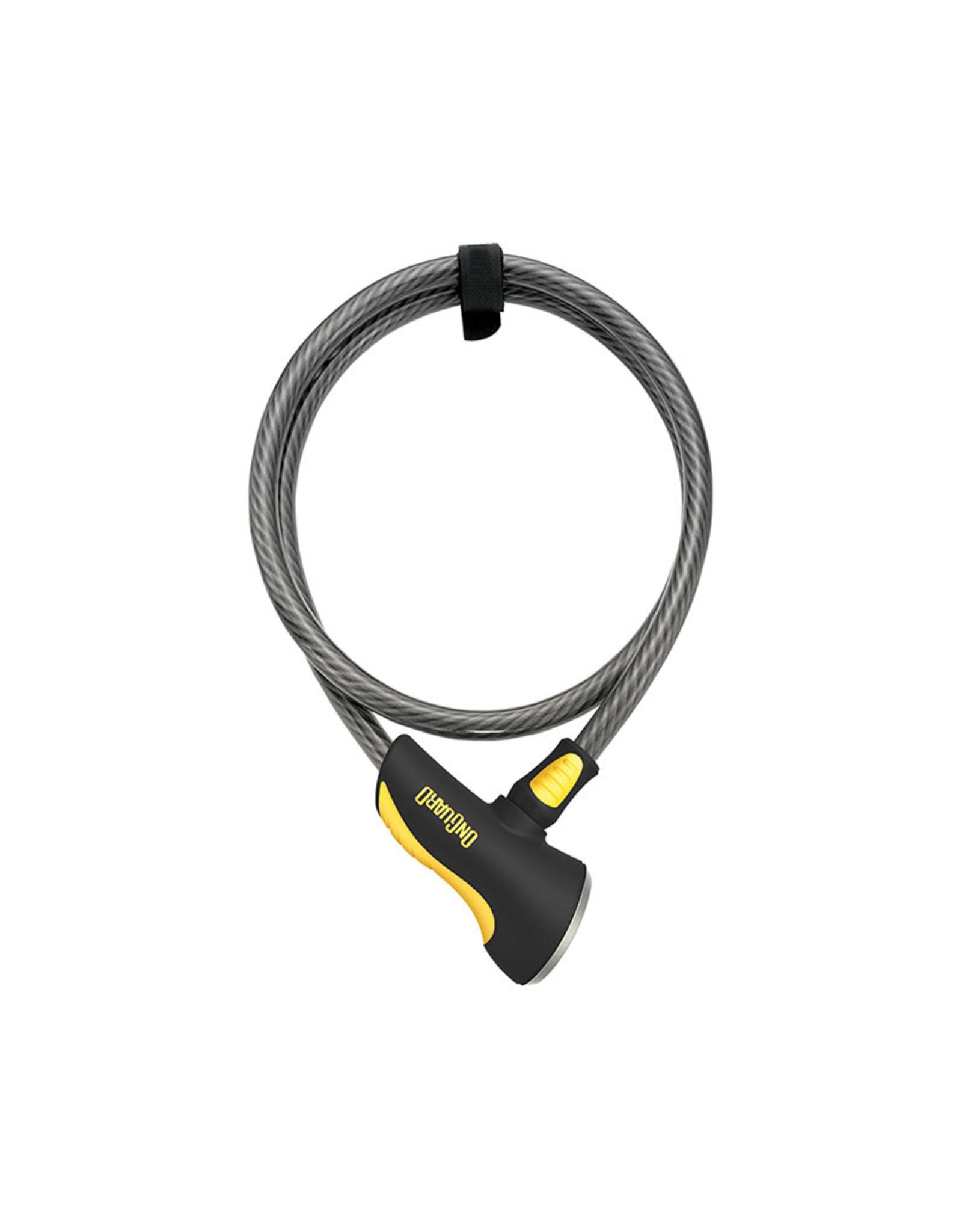 TOPEAK, ONGUARD ONGUARD CABLE LOCK AKITA 8039,-12mmX 4' KEY