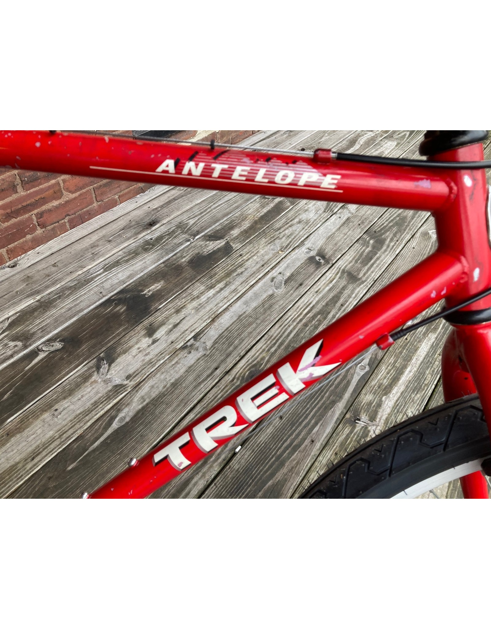 used bike 9749 TREK 800 RED atb 50cm