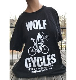 """Wolf Cycles T-Shirt Suffering Cyclist """"Men's"""""""