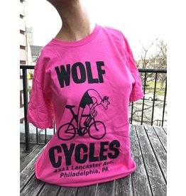 """""""Women's"""" Wolf Cycles  Suffering Cyclist t-shirt"""