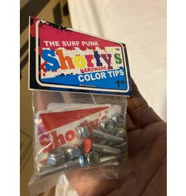 "Shorty's 1"" Color Hardware - SURF PUNK single"