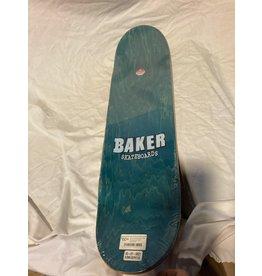 Baker Brand Logo 8.25 Skateboard Deck Red/White