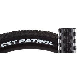 CST PREMIUM TIRES CSTP PATROL 27.5x2.8 BK/BK WIRE SC