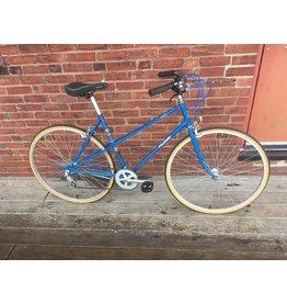 Used Bike 9638 Raleigh mixte 51x54 blue