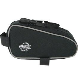 Planet Bike Planet Bike Snack Sack Top Tube/ Stem Bag: Black