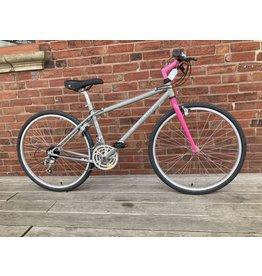 "Used Bike #9787 Montagna ""Collina"" MTB 15""/Small Grey/Pink 26"" full-rigid"