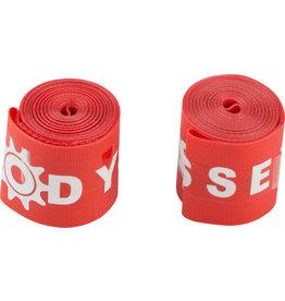"Odyssey Odyssey Rim Strip 24"" Red pair"
