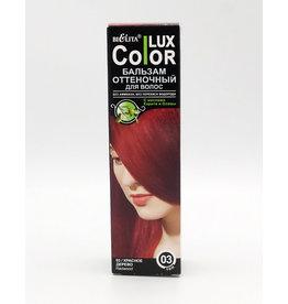 Lux Color Lux Color, Бальзам Оттеночный, Тон 03 красное дерево