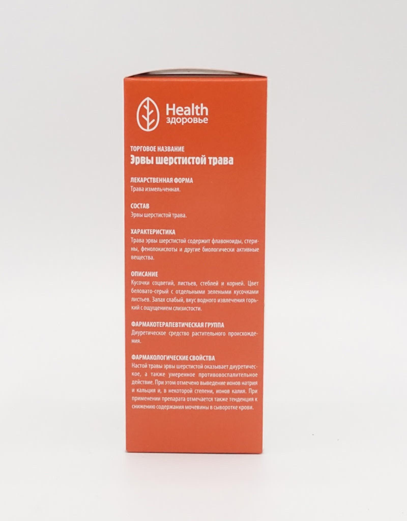 Health, Здоровье Эрвы Шерстистой Трава
