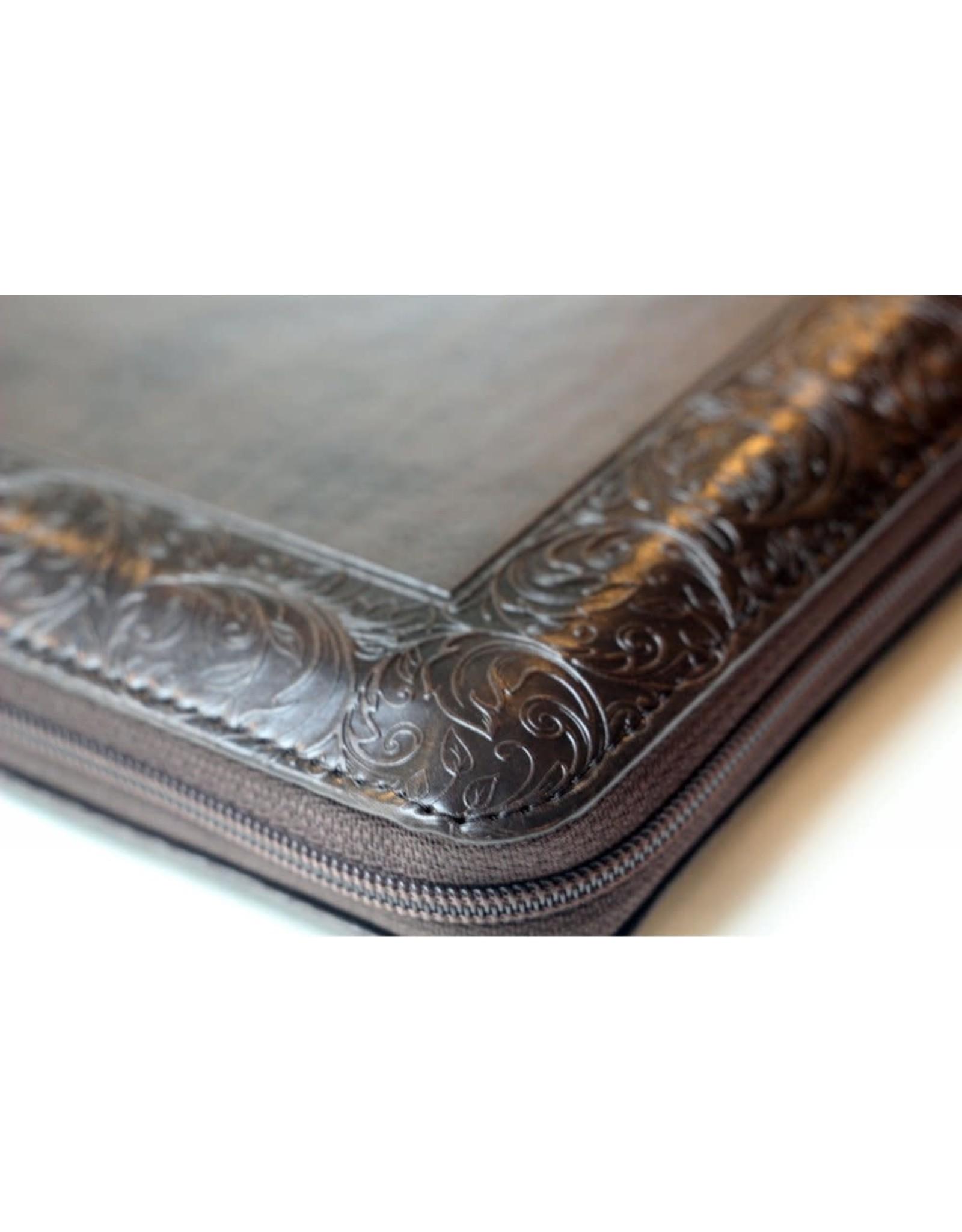 Библия, Каноническая (SYNO), Index, Leather with Zipper, Medium