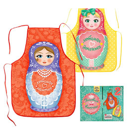 Aprons: Mom and Daughter