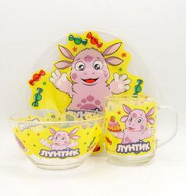 Набор Детской Посуды, Лунтик