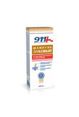 911 911, Шампунь Луковый от Выпадения Волос и Облысения, 150мл