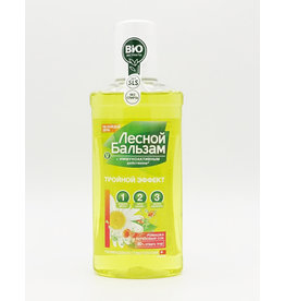 Лесной Бальзам Forest Balm, Rinser Triple effect, Chamomile Birch Juice, 250ml