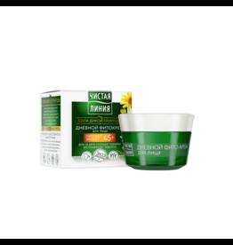 Чистая Линия Pure Line, Day Phyto Cream 45+ Collagen