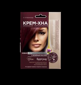 Cream Henna Burgundy