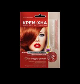 Cream-Henna Copper Red
