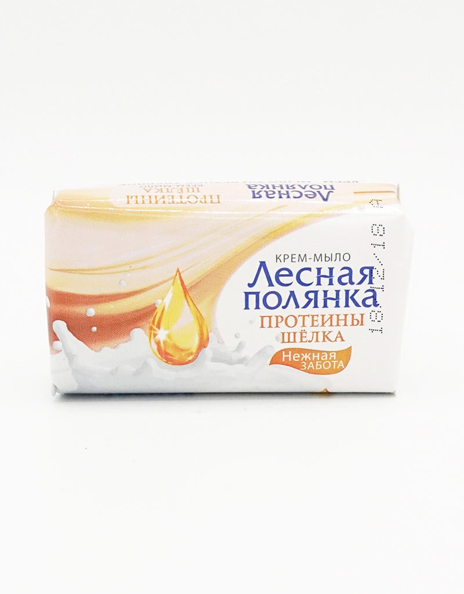 Лесная Полянка Крем-Мыло, Протеины Шёлка