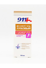 911 Onion Shampoo for Hair Loss and Baldness with Burdock Oil, 150ml